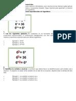 Cómo resolver ecuaciones exponenciales