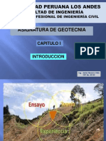 CLASE TEORICA I INTRODUCCION GEOTECNIA _PDF