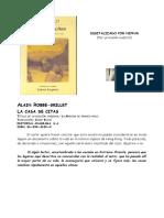 Alain Robbe-Grillet-La casa de citas (La Maison de rendez-vous).doc