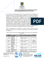 INFORME DE AVANCE CONVENIO 597 DE 2015 30082016