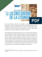 CL 1.2. Los 5 Sentidos de la Liturgia
