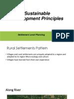 Sustainable Development Principles