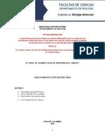 moleculas de adhesion informe Fierro Vanesa
