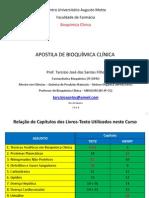 APOSTILA BIOQUÍMICA CLÍNICA - PROF TARCIZIO