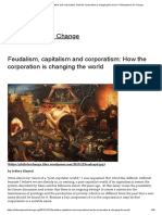 Feudalism, capitalism and corporatism_ How the corporation is changing the world – Philosophers for Change
