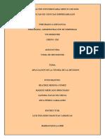 ACTIVIDAD N°7 - TOMA DE DESICIONES