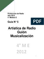 Artísticas guía 2012 4e777 u