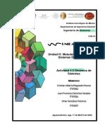 Actividad 4.5 Dinamica de Sistemas