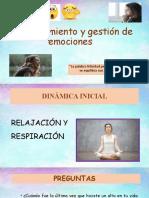 Reconocimiento y gestión de emociones