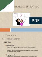 Unidad I  PROCESO ADMINISTRATIVO 2014