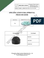Buzzer LPB4333S