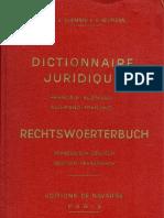 Quemner&Neumann_Dictionnaire Juridique - Français-Allemand, Allemand-Français