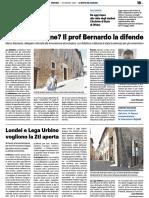 Università on line? Il prof Bernardo la difende - Il Resto del Carlino del 26 maggio 2020