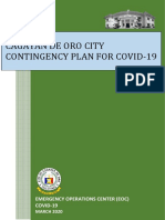 CDO COVID-19 CONTINGENCY PLAN - SET - APRIL 2020