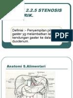 017 - Alimentari - Stenosis Pilorik
