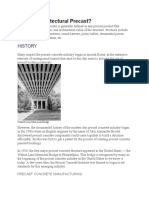 What is Architectural Precast