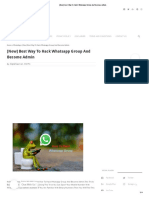 [New] Best Way To Hack Whatsapp Group And Become Admin.pdf