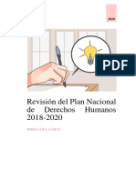 Revisión del PNDH _ PERÚ