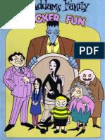 Addams Family Sticker Fun Book 1993