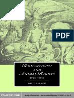 (Cambridge studies in Romanticism 58) David Perkins - Romanticism and animal rights-Cambridge University Press (2007).pdf