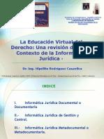 la educacion virtual del derecho