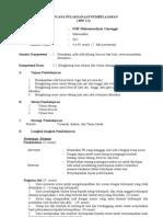 RPP MATEMATIKA KD 2.2d KELAS IX