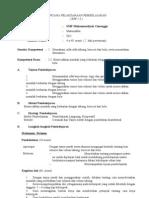 RPP MATEMATIKA KD 2.3 KELAS IX