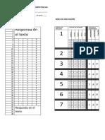 tabla respuestas distractores - competencias