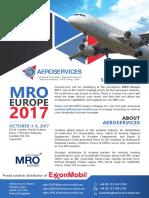 Aeroservices MRO Invite