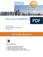 What is New in Ashrae 90.1 2010