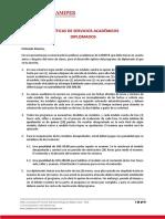 POLITICAS CAMIPER DIPLOMADOS
