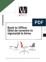 Workspace eBook - sfaturi pentru revenirea în siguranță la birou
