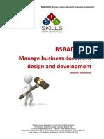 BSBADM506 Student Workbook V1.0.docx