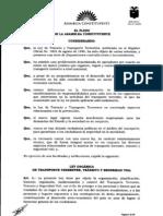 ley transito Ecuador