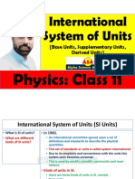 International System of Units (SI Units)