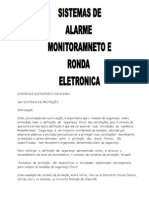 ALARME MONITORAMENTO E RONDA ELETRÔNICA