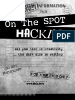 On the Spot Hacking