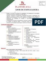 Plano de aula S011 Operador de Empilhadeira