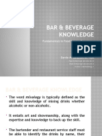 (14) Bar  Beverage Knowledge New.pptx