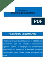 UD VI- Estatuto dos Militares_ 2018