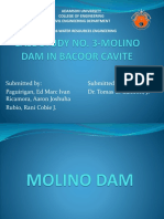 Case Study No. 3-Molino Dam in Bacoor, Cavite