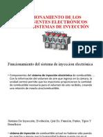 FUNCIONAMIENTO DE LOS COMPONENTES ELECTRÓNICOS DE LO S