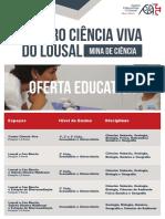OFERTA EDUCATIVA 20192020 Lousal
