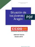 Situación de los jóvenes en Aragón 2010