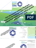Minnesota Water Sustainability Framework