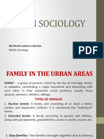 report in urban socio