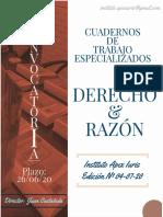 DERECHO Y RAZON APEX IURIS