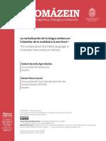 Dialnet-LaRevitalizacionDeLaLenguaEmberaEnColombia-6476568