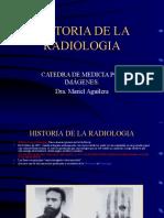 1 HISTORIA DE LA RADIOLOGIA