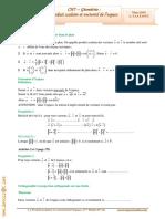 Cours Math - Chap 7 Géométrie Produit scalaire et vectoriel dans l'espace - 3ème Math (2009-2010) Mr Abdelbasset Laataoui www.espacemaths.com.pdf